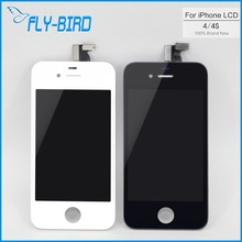 10PCS/LOT A Quality Touch Screen For iPhone 4s 4g GSM Digitizer LCD with Frame Display Assembly Free Shipping(China)