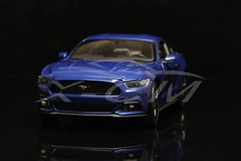 Diecast Car Model Welly FX Models 2015 Ford Mustang GT 1:24 (Blue) + SMALL GIFT!!!!!!!!