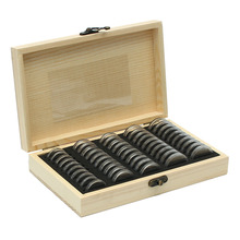 Wood Style Bundle Coins Display Box Case for Slab Certified Coins Storage Boxes Jewelry Box Home Storage Organization