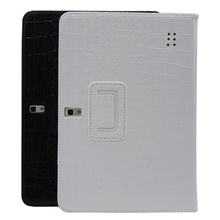 Cover  black and white color Leather case for 10 inch tablet from our store