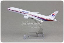 Brand New 1/400 Scale Airplane Model Toys MALAYSIA AIRLINES Boeing B777 16cm Diecast Metal Plane Model Toy For Gift/Kids