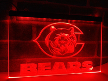 LA123- Chicago Bears Bar Beer Pub NEW   LED Neon Light Sign     home decor  crafts