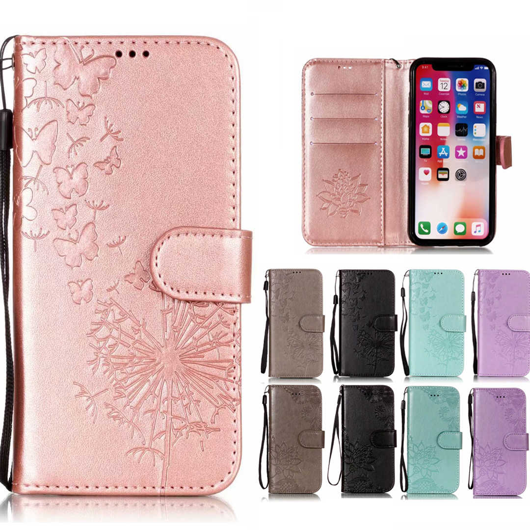 3D Dandelion Leather Case For Xiaomi Redmi 6 6A S2 Note 5A 5 Pro Plus 4 4X 4A Mix 2S A2 6X 8 Book Style PU Leather Phone Cases