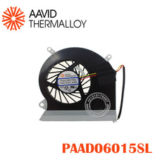 CPU Cooling Fan fit For MSI GE60 16GA 16GC series notebook PAAD06015SL 0.55A 5VDC 3pin A166 N284