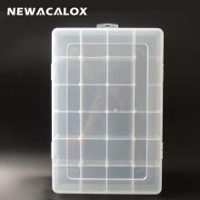 Big Tool Box Electronic Plastic Parts Waterproof Transparent Toolbox Casket SMD SMT Screw Containers Component Storage Case