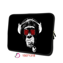 monkey print soft notebook sleeve tablet cover 7 laptop bag 7.9 tablet protective shell skin for ipad mini 3 TB-15071318(China)