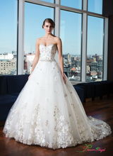 2017 New White/Ivory Sweetheart Princess Ball Gown Vestido De Noiva Organza Wedding Dress Appliques Sexy Bridal Gown Custom made