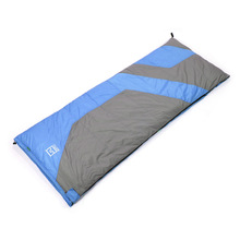 Factory Price keep warm / cold duckdown Sleeping Bag Blue/ Green / Orange(China)