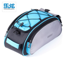 ROSWHEEL Bike Rear Rack Bag Bicycle 13L Bicycle Basket Shoulder Cycling Bags Bike Frame Pack Outdoor Sports Multifunctional