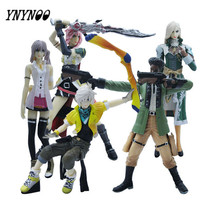 YNYNOO 5 Pcs/lot Anime Final Fantasies Action figure Final of Fantasy Action & Toys Figure PVC collectible Model Toy AF103