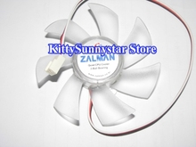 MulFan for ZALMAN ZF9225ATH 12V 0.35A 3Wire For CNPS9500 CNPS9700 With LED Cooling Fan(China)