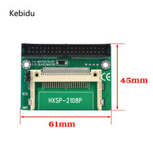 "kebidu CF to IDE Compact Flash Card Adapter Bootable 40pin CF to IDE 3.5"" HDD Hard Drive Converter Adaptor 3.5 inch Connector(China)"