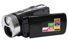 Free Shipping Full HD 1080P Digital Video Camera with HDD/Flash memory media type camcorder