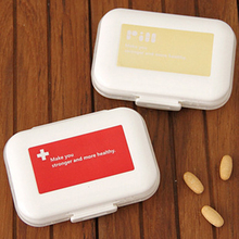 Multi-functional Drug storage box 7 Days Weekly Tablet Pill Medicine Box Holder Storage Organizer 8 Slots Pill Box(China)