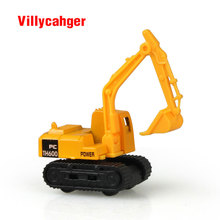 Mini Diecast Car construction vehicle Engineering Car Excavator Dump Roller Truck Model Classic Toy gift for friends