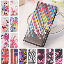 For Apple iPhone 5C Flip PU Leather Wallet Phone Case Popular Flower Love Butterfly Pattern Stand Holder Cover 5C Cases Shell
