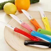 1 Piece Folding Ceramic Knife Kitchen Knives Fruit Vegetable Sushi Cutting Tools/facas De Ceramica Cozinha /cuchillos De Cocina