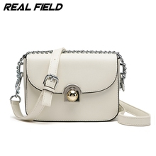 Real Field Designer Women Messenger Bag Metropolis Fashion Lady Evening Bag Pu Leather Shoulder Bags Lock Chain Handbags 076