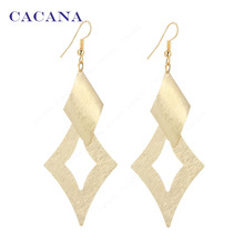 CACANA Dangle Long Earrings Star Style Top Quality For Women Bijouterie Hot Sale No.A73 A74(China)