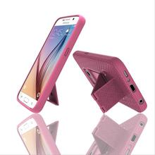 Own brand manufacturers wholesale holder phone Cover Case For Samsung Galaxy S6 Edge phone shell protective sleeve stand(China)