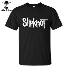 Heavy Metal Slipknot Letter Printed Mens Men T Shirt Tshirt Fashion New Short Sleeve Cotton T-shirt Tee Camisetas Hombre