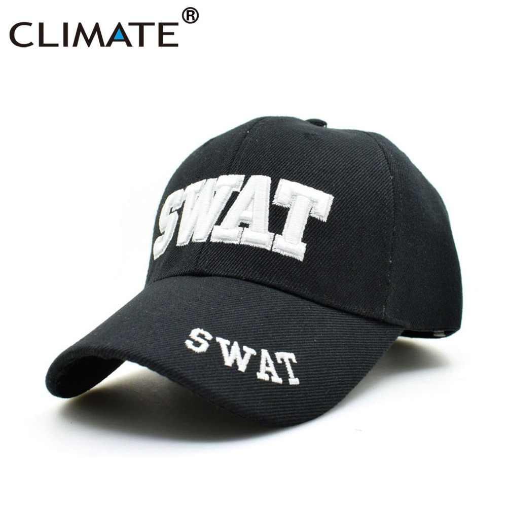 1e6a3b59b88eb Detalle Comentarios Preguntas sobre Climático SWAT los hombres gorras de  béisbol del ejército SWAT. Gorra de uniforme fresco ajustable gorras de  béisbol ...