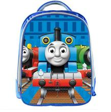 New Cartoon Thomas And Friends Kindergarten Backpack Boys Book Bag Anime Children School Bags Kids School Backpack Gift Bag(China)