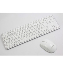 MAORONG TRADING Original authentic wireless white mouse and keyboard set Swiss version for Samsung laptop blue light mouse(China)
