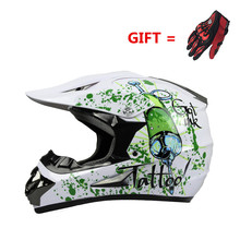 Hot sales off-road helmets downhill racing off-road helmets off-road mountain full face helmet motorcycle goggles gloves WLT-125