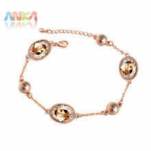 crystal charm bracelet for women top quality wholesale price for women with fine polishing Crystals from Swarovski #108127