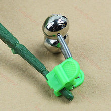 20pcs/lot Outdoor Twin Rod Bells Ring Fishing Bait Lure Accessory Alarm Product Brand New