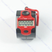 2017 Mini 5 Digit Tally Counter Electronic LCD Display Digital Golf Finger Hand Ring MAR20_15