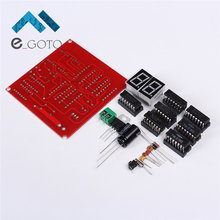 60s Timers 2Bit LED Digital Tube Display Counter Suits Second Circuit Module DIY Kit Skill Electronic Production Training Parts