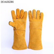 Winter Gloves Working Protection Gloves Velet Warm Goat Security Safety Cutting Working Repairman Garage Machanic Men Gloves(China)