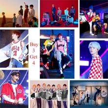 2018 BTS Kpop Poster Hohe Definition Wand Dekoration Musik Liebe Selbst(China)