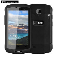 "AGM A8 MINI IP68 Waterproof 4G SmartPhone MSM8909 Quad Core 4.0"" IPS 1GB RAM 8GB ROM Android 5.1 8MP OTG Mobile Phone Russian(China)"