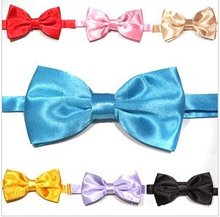 Free Shipping Wholesale 56pcs/Lot men ties polyester bowtie ascot knots necktie(China)
