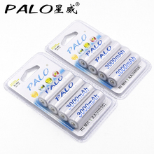 8pcs/Lot AA Battery Batteries 1.2V AA 3000mAh Ni-MH Pre-charged Rechargeable Battery 2A Baterias for Camera