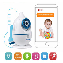 Hot Brand Wireless Cute Baby Monitor 720P IP Camera P2P Baby Electronic support Voice Alarm Night Vision for iPhone Android PC(China)