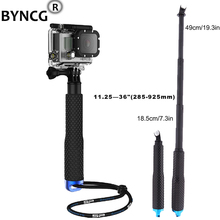 BYNCG for GoPro Accessories Extendable Pole Telescopic Tripod Monopod With for Go Pro Hero 4 3+ 3 2 Sj4000 Xiaomi Yi 4K Eken H9