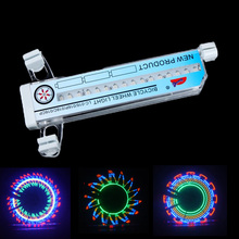 32 Patterns Bike Wheel Light Cycling Wheel Spoke Light 32 Colorful LED Bicycle Spokes Lights Waterproof Luces Led Bicicleta