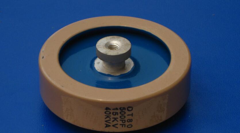 Round ceramics Porcelain high frequency machine  new original high voltage DT80 500PF 15KV 40KVA   <br>