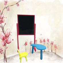 Top Quality 1 Set Doll Accessories Fashion Classing Room Furniture Desks + Chair + Blackboard for Barbie Doll Kelly Doll(China)