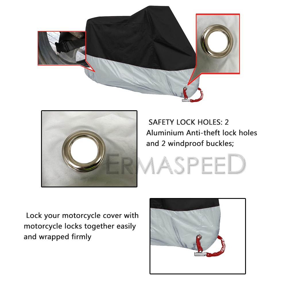 motorcycle scooter rain antidust cover (10)