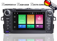 7 ips автомобиля Android 8,0 DVD gps плеер для Toyota AURIS 2006 2007 2009 2010 2011 2008 навигации Райдо BT Wi Fi/4G географические карты DAB +(Hong Kong,China)