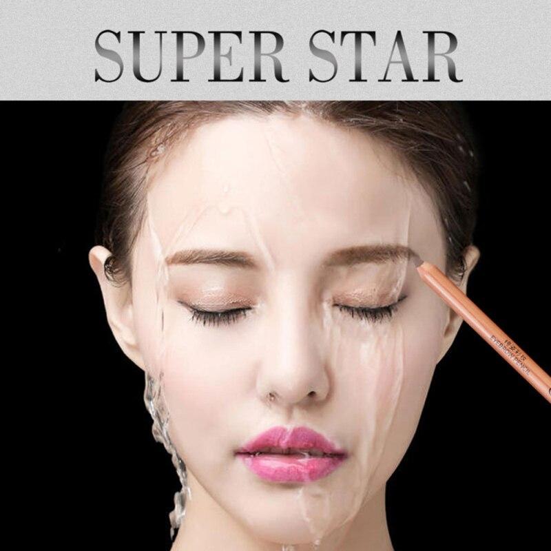 Black Brown Eyebrow Pencil Eye Brow Liner Professional Makeup Make