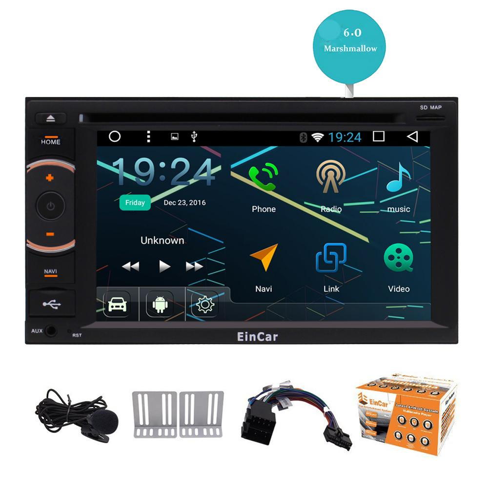 7″ Android 6.0 Autoradio GPS Bluetooth Car dvd gps Stereo audio Player Capacitive Touch Screen Support USB WIFI Reversing Camera