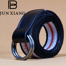 Buy DIY Belts stripes canvas jeans belt hot casual belts boy girl simple decorative strap belt striped style solid girl for $3.60 in AliExpress store