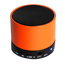 Mini Rechargeable Bluetooth Wireless Portable Speaker ORANGE(China)