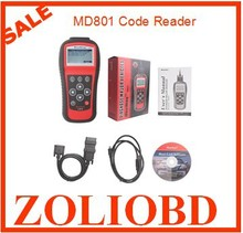 Autel MD801 Pro 4 in 1 code scanner(JP701 + EU702 + US703 + FR704) MaxiDiag PRO MD 801 Code Reader Multi-Functional Top quality
